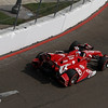 March 23: Scott Dixon during IndyCar qualifying at the Honda Grand Prix of St. Petersburg.
