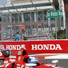 March 22: Dan Wheldon Way at IndyCar practice at the Honda Grand Prix of St. Petersburg.
