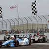 March 24: Simon Pagenaud and J.R. Hildebrand during the Honda Grand Prix of St. Petersburg IndyCar race.