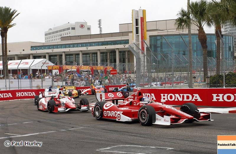 March 24: Scott Dixon during the Honda Grand Prix of St. Petersburg IndyCar race.