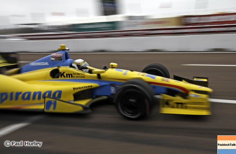 March 23: Anna Beatriz during IndyCar qualifying at the Honda Grand Prix of St. Petersburg.