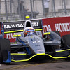 March 22: Josef Newgarden at IndyCar practice at the Honda Grand Prix of St. Petersburg.