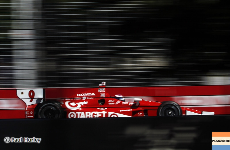 July 14: Scott Dixon during the Indy Honda Toronto race.