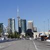 July 14: The Toronto skyline after the Indy Honda Toronto race.