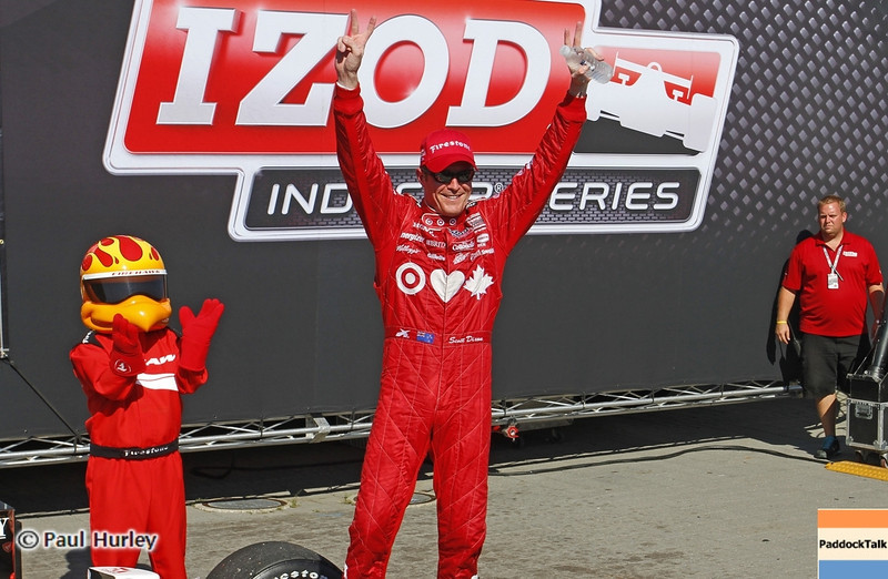 Ganassi IndyCar driver Scott Dixon has won the 2013 IndyCar championship after finishing fifth at the season finale.