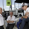 April 7: Roger Penske, Kevin Kalkoven and Jimmy Vasser before the Honda Grand Prix of Alabama IndyCar race at Barber Motorsports Park