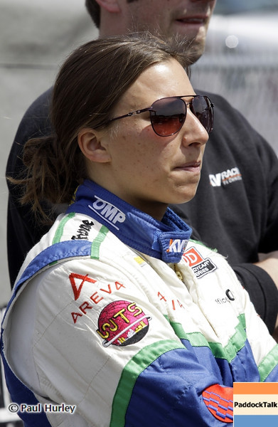 April 6: Simona de Silvestro during qualifying for the Honda Grand Prix of Alabama at Barber Motorsports Park.