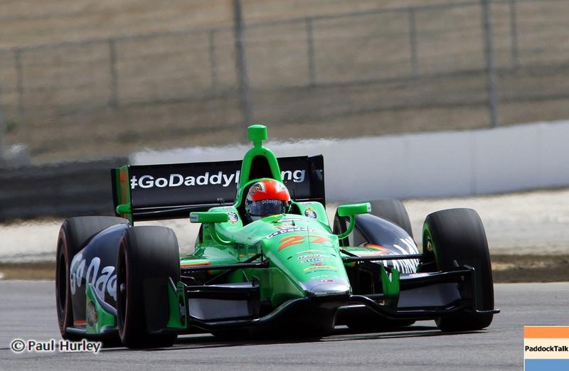 April 6: James Hichcliffe during qualifying for the Honda Grand Prix of Alabama at Barber Motorsports Park.