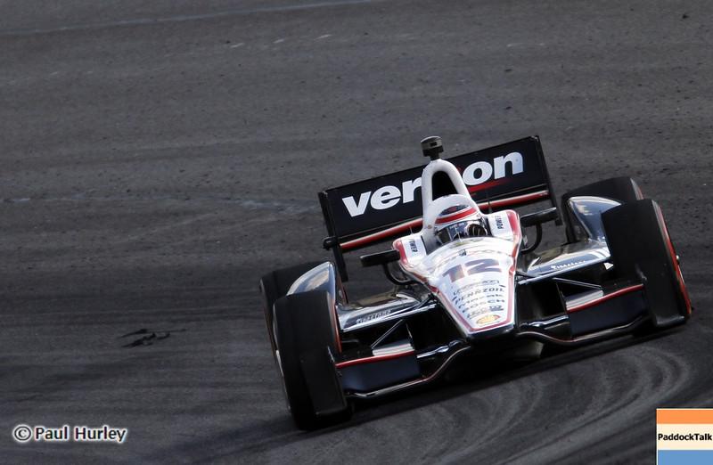 April 7: Will Power during the Honda Grand Prix of Alabama IndyCar race at Barber Motorsports Park