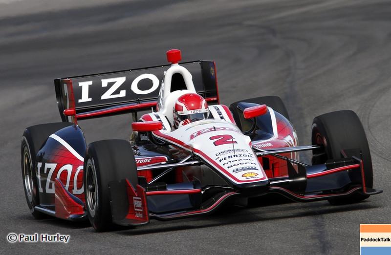 April 6: A.J. Allmendinger during qualifying for the Honda Grand Prix of Alabama at Barber Motorsports Park.