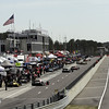 April 6: Pit lane during qualifying for the Honda Grand Prix of Alabama at Barber Motorsports Park.