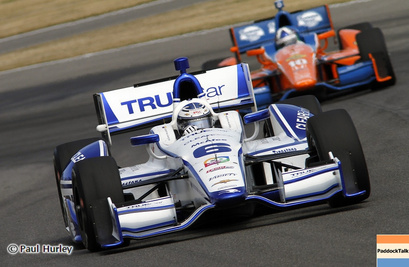 April 6: Sebstian Saavedra during qualifying for the Honda Grand Prix of Alabama at Barber Motorsports Park.