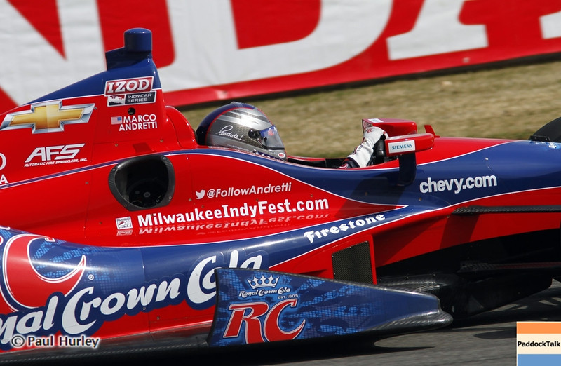 April 6: Marco Andretti during qualifying for the Honda Grand Prix of Alabama at Barber Motorsports Park.