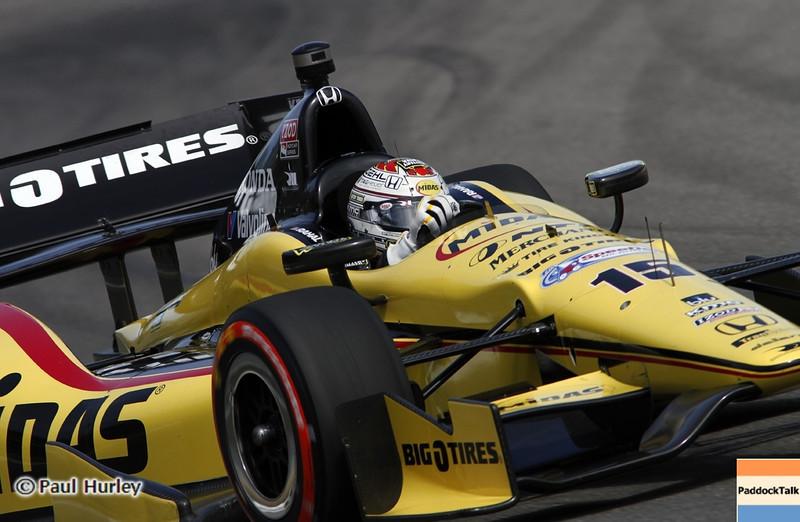April 6: Graham Rahal during qualifying for the Honda Grand Prix of Alabama at Barber Motorsports Park.