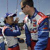 April 7: Takuma Sato before the Honda Grand Prix of Alabama IndyCar race at Barber Motorsports Park