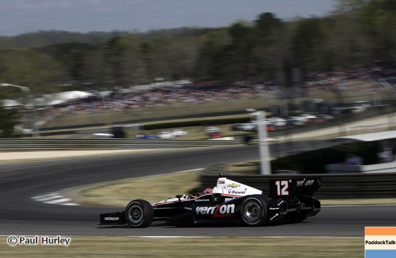 April 7: Will Power during the Honda Grand Prix of Alabama IndyCar race at Barber Motorsports Park