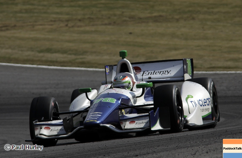 April 7: Simona de Silvestro during the Honda Grand Prix of Alabama IndyCar race at Barber Motorsports Park