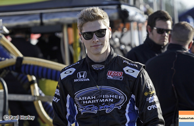 April 6: Josef Newgarden during qualifying for the Honda Grand Prix of Alabama at Barber Motorsports Park.