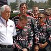 April 7: Roger Penske and crew before the Honda Grand Prix of Alabama IndyCar race at Barber Motorsports Park