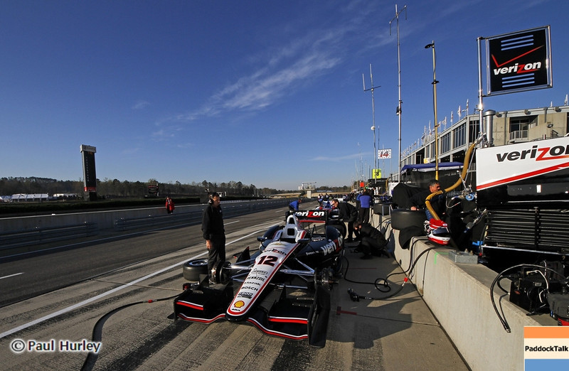 April 6: Will Power's car during qualifying for the Honda Grand Prix of Alabama at Barber Motorsports Park.
