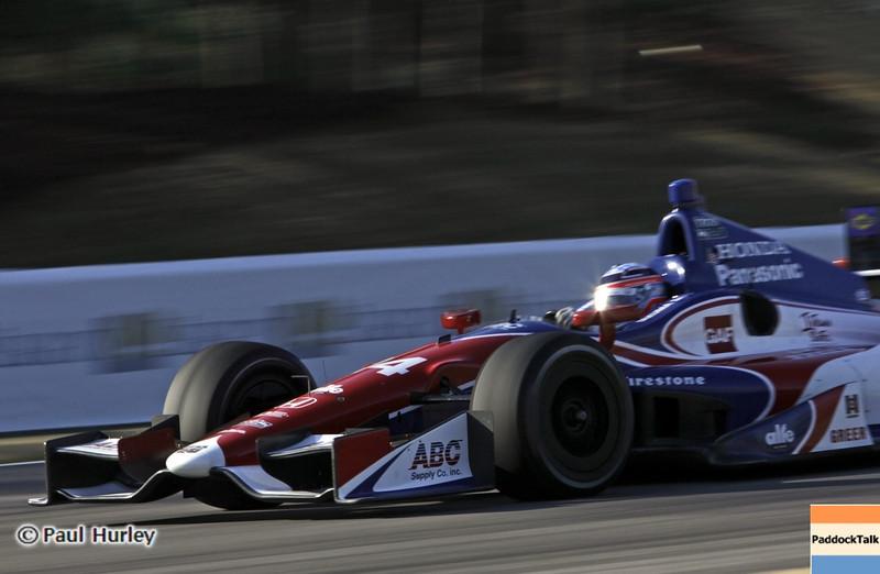 April 6: Takuma Sato during qualifying for the Honda Grand Prix of Alabama at Barber Motorsports Park.