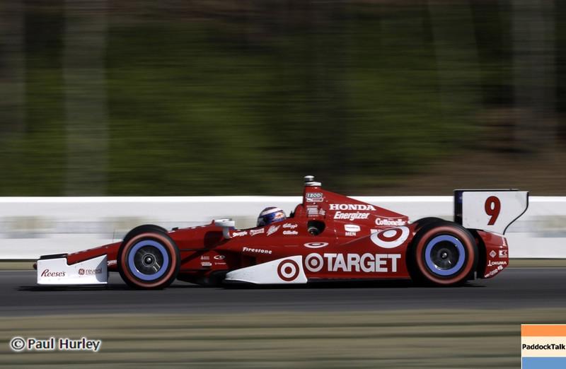 April 7: Scott Dixon during the Honda Grand Prix of Alabama IndyCar race at Barber Motorsports Park