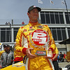 April 6: Ryan Hunter-Reay during qualifying for the Honda Grand Prix of Alabama at Barber Motorsports Park.