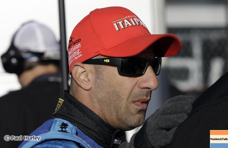 April 6: Tony Kanaan during qualifying for the Honda Grand Prix of Alabama at Barber Motorsports Park.
