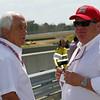 April 7: Roger Penske and Chip Ganassi before the Honda Grand Prix of Alabama IndyCar race at Barber Motorsports Park