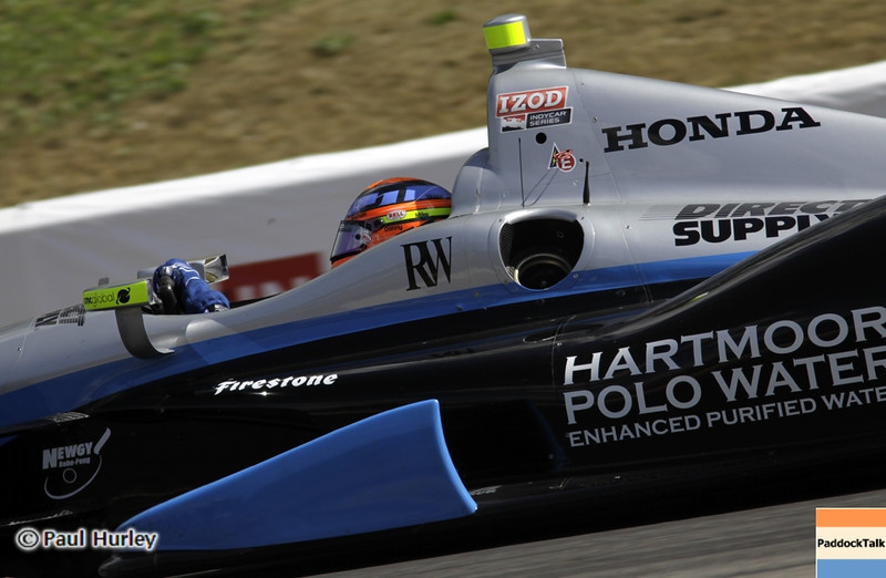 April 7: Josef Newgarden during the Honda Grand Prix of Alabama IndyCar race at Barber Motorsports Park