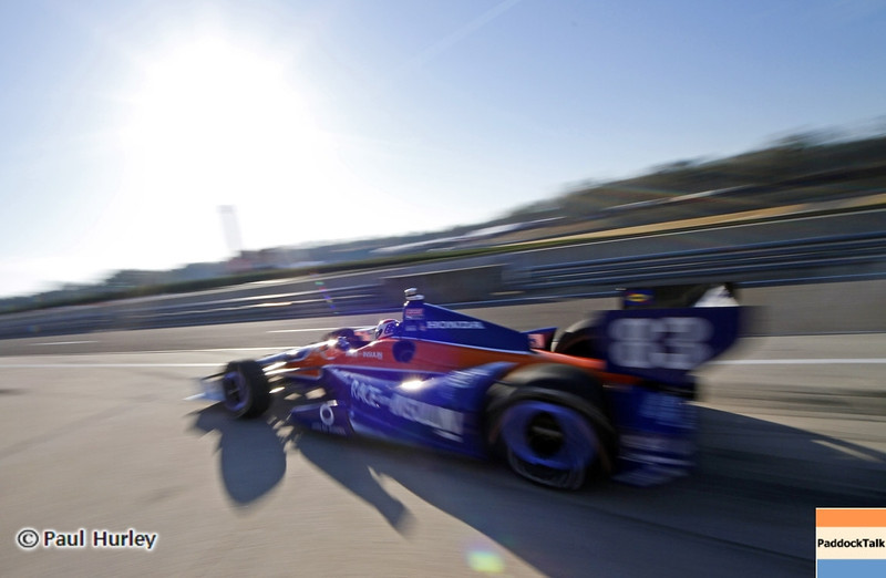 April 6: Charile Kimball during qualifying for the Honda Grand Prix of Alabama at Barber Motorsports Park.