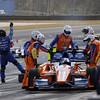 April 7: Dario Franchitti during the Honda Grand Prix of Alabama IndyCar race at Barber Motorsports Park