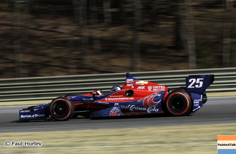 April 7: Marco Andretti during the Honda Grand Prix of Alabama IndyCar race at Barber Motorsports Park