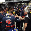 April 7: Marco Andretti's team before the Honda Grand Prix of Alabama IndyCar race at Barber Motorsports Park