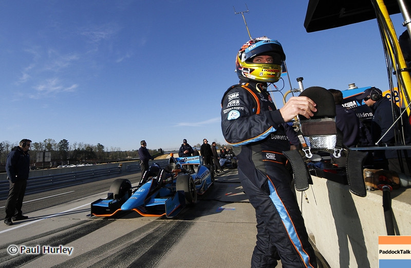 April 6: Alex Tagliani during qualifying for the Honda Grand Prix of Alabama at Barber Motorsports Park.