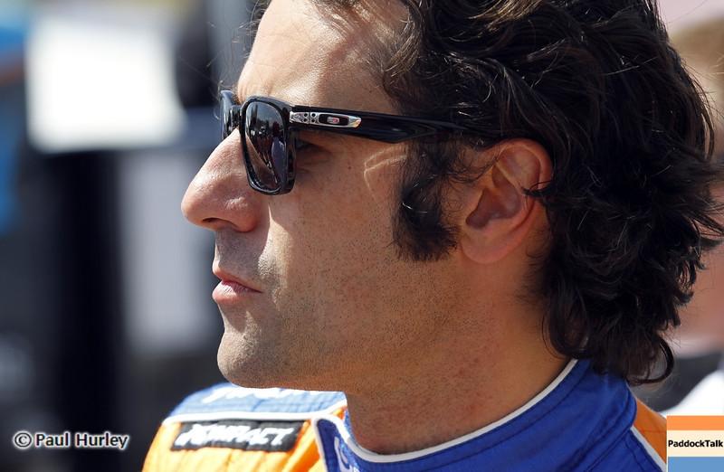 April 7: Dario Franchitti before the Honda Grand Prix of Alabama IndyCar race at Barber Motorsports Park