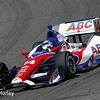 April 26: Takuma Sato during qualifying for the Honda Grand Prix of Alabama.