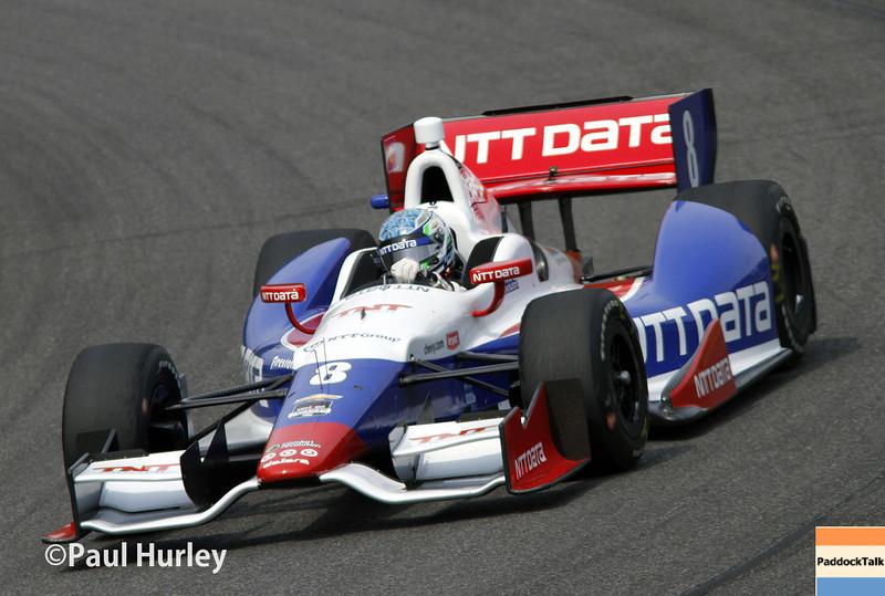 April 27: Ryan Briscoe during the Honda Grand Prix of Alabama.