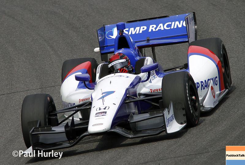 April 27: Mikhail Aleshin during the Honda Grand Prix of Alabama.