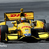 April 26: Ryan Hunter-Reay during qualifying for the Honda Grand Prix of Alabama.