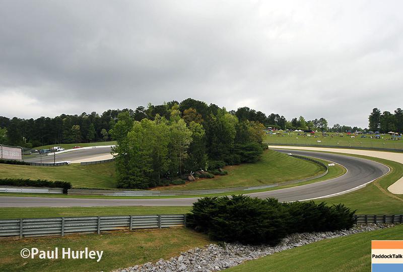 April 27: First turns during the Honda Grand Prix of Alabama.