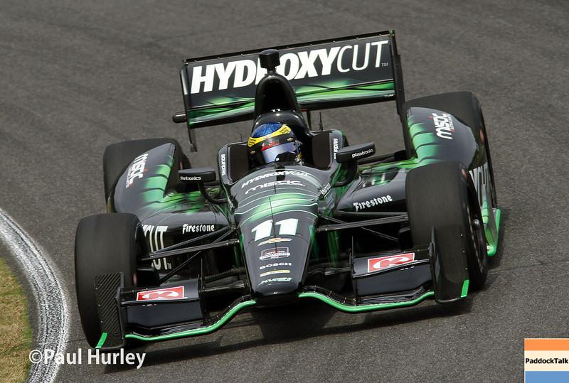 April 27: Sebastien Bourdais during the Honda Grand Prix of Alabama.