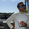 April 26: Oriol Servia during qualifying for the Honda Grand Prix of Alabama.