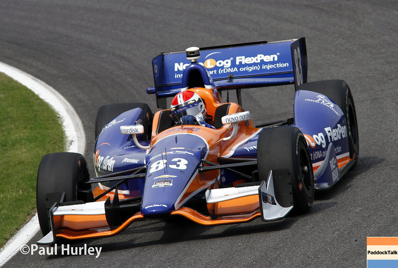 April 27: Charlie Kimball during the Honda Grand Prix of Alabama.