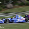 April 27: Tony Kanaan during the Honda Grand Prix of Alabama.