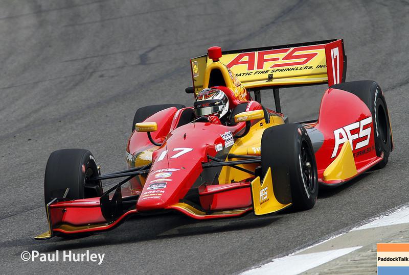 April 27: Sebastian Saavedra during the Honda Grand Prix of Alabama.