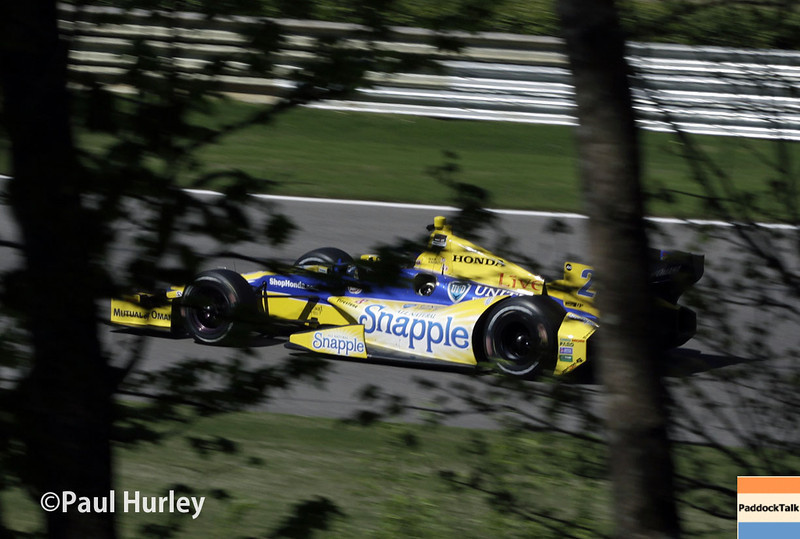 April 26: Marco Andretti during qualifying for the Honda Grand Prix of Alabama.
