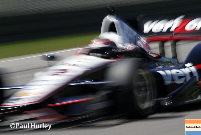 April 26: Will Power during qualifying for the Honda Grand Prix of Alabama.