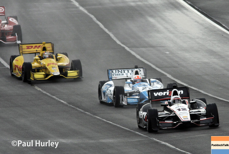 April 27: Track action during the Honda Grand Prix of Alabama.
