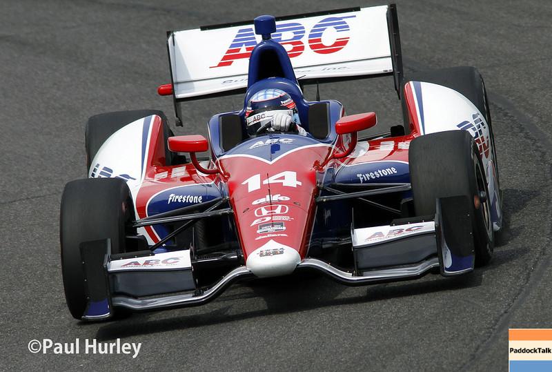 April 27: Takuma Sato during the Honda Grand Prix of Alabama.